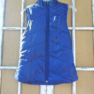 Royal Blue Puffer Vest